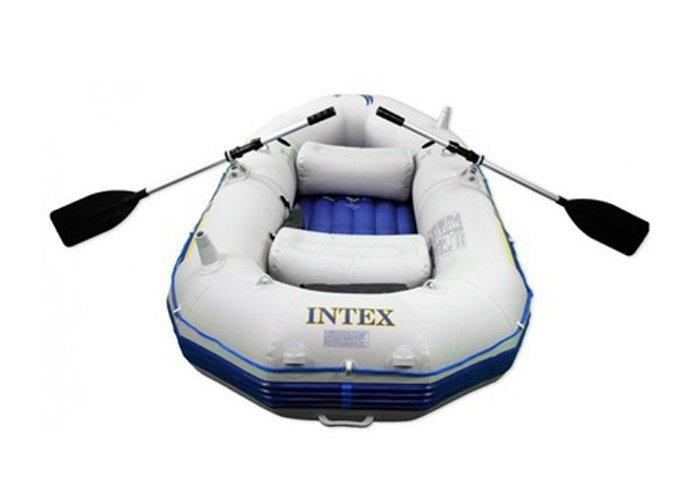лодка надувная seahawk 2 intex 68377